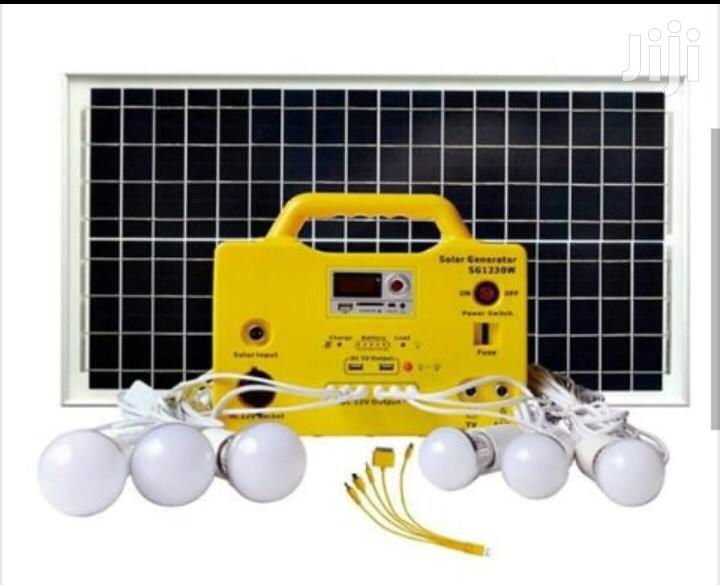 24hrs Lighting Mini Solar Mobile Kit For Laptop