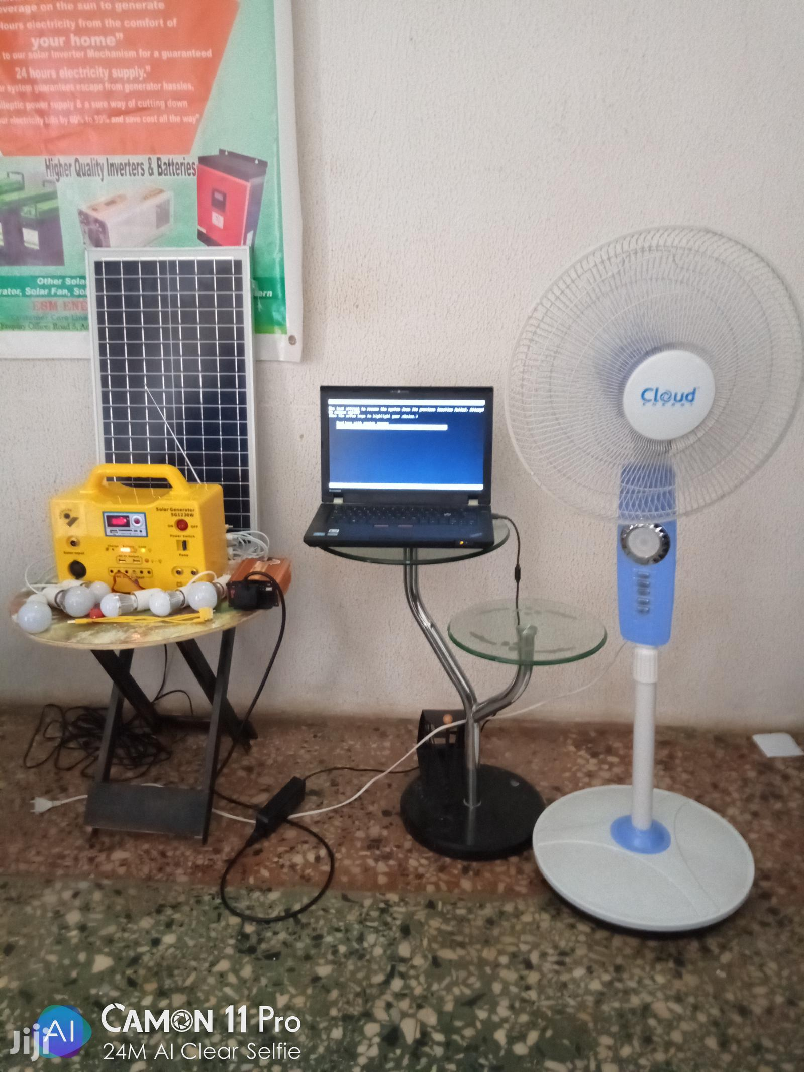 24hrs Lighting Mini Solar Mobile Kit For Laptop | Solar Energy for sale in Badagry, Lagos State, Nigeria