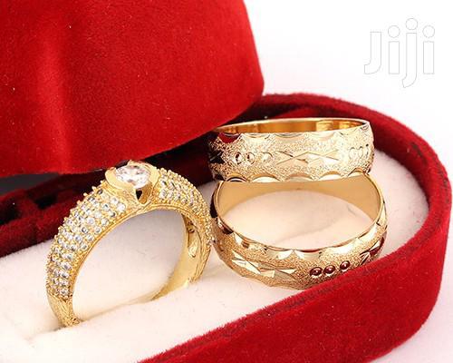 19karat Gold Plated Romania Wedding Ring
