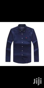 Ralph Lauren Plain Packing Shirt Office Shirt Original | Clothing for sale in Lagos State, Surulere