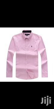 Ralph Lauren Plain Packing Shirt 100% Cotton | Clothing for sale in Lagos State, Surulere