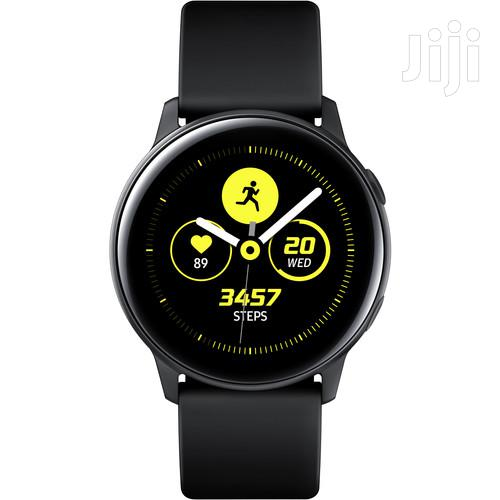 Samsung Galaxy Watch Active (Black) | Smart Watches & Trackers for sale in Ikeja, Lagos State, Nigeria