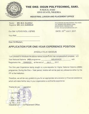 Computer Operator | Computing & IT CVs for sale in Oyo State, Ibadan