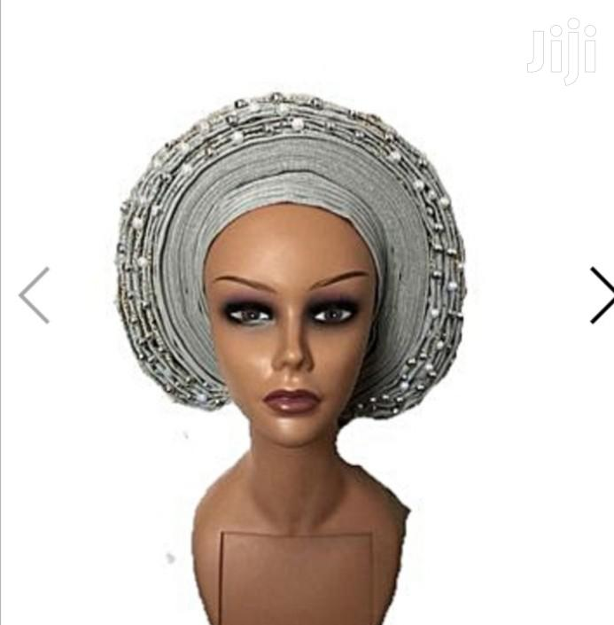 Embellished Auto Gele | Clothing Accessories for sale in Ikeja, Lagos State, Nigeria