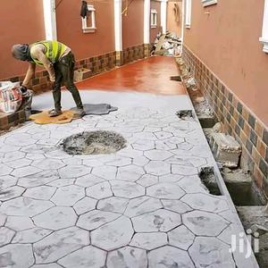 Concrete Stamped Floor | Cleaning Services for sale in Lagos State