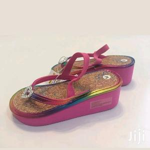 Size 6 Wedge Girl Sandal   Children's Shoes for sale in Abuja (FCT) State, Jabi