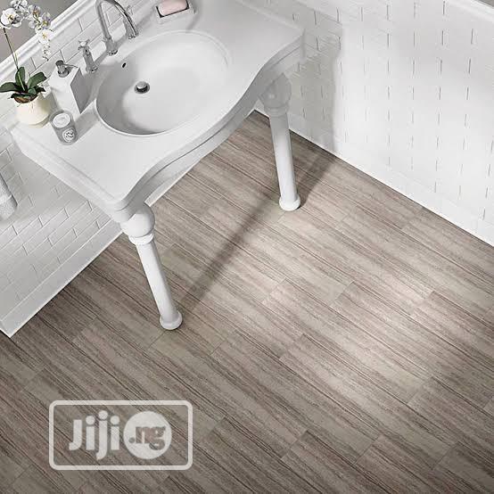 Grey Vinyl Floor