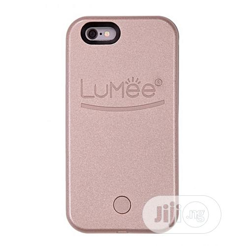 Archive: Lumee Case for iPhone 7 Plus Selfie Light - Rose Gold