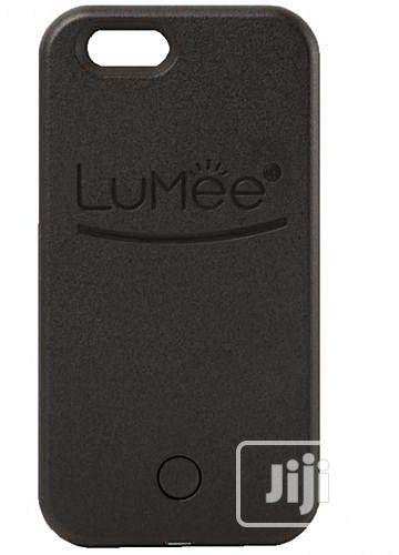 Archive: Lumee iPhone 7 Plus Selfie Light Case - Black