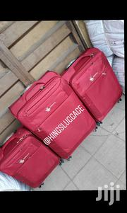 Swisspolo Red Luggage   Bags for sale in Lagos State, Lagos Island