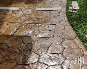 Interlocks and Stamped Concrete Floor | Building & Trades Services for sale in Abuja (FCT) State, Lokogoma