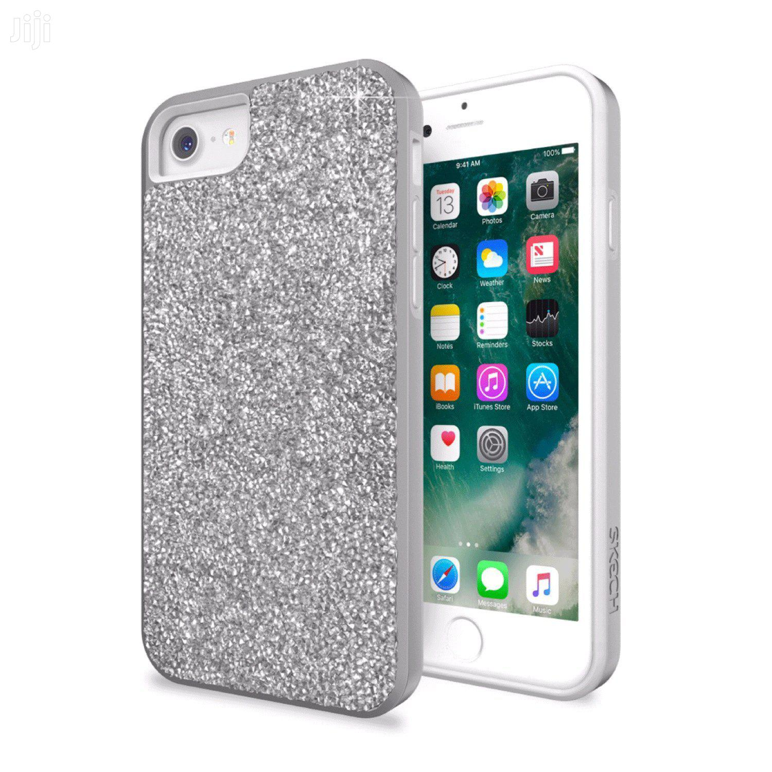 Skech Jewel Protective Cover for iPhone 7 (6/6s Compatible) - Silver