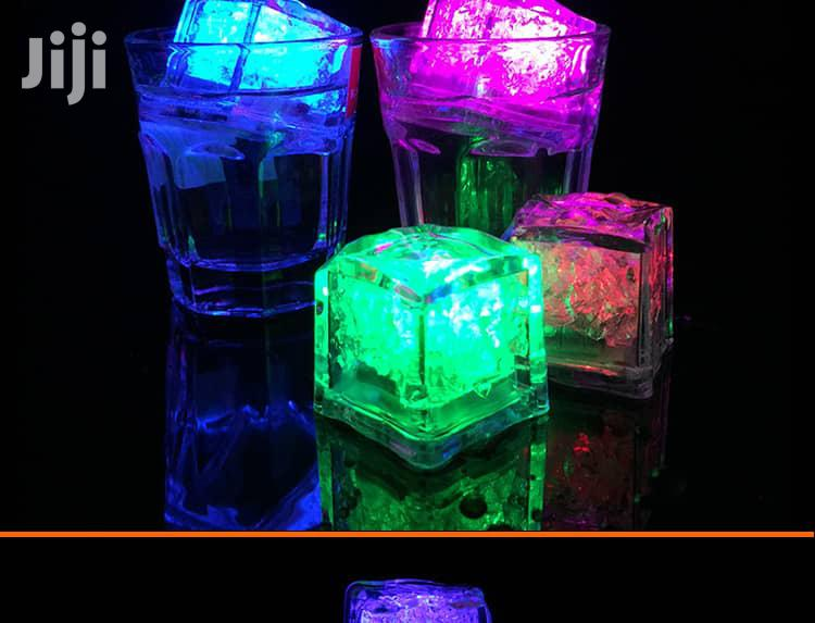 7 Color Changing LED Ice Cubes -