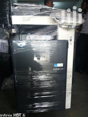 Bizhub C220: Coloured and Black White Multifunctional Copier | Printers & Scanners for sale in Lagos State, Lekki
