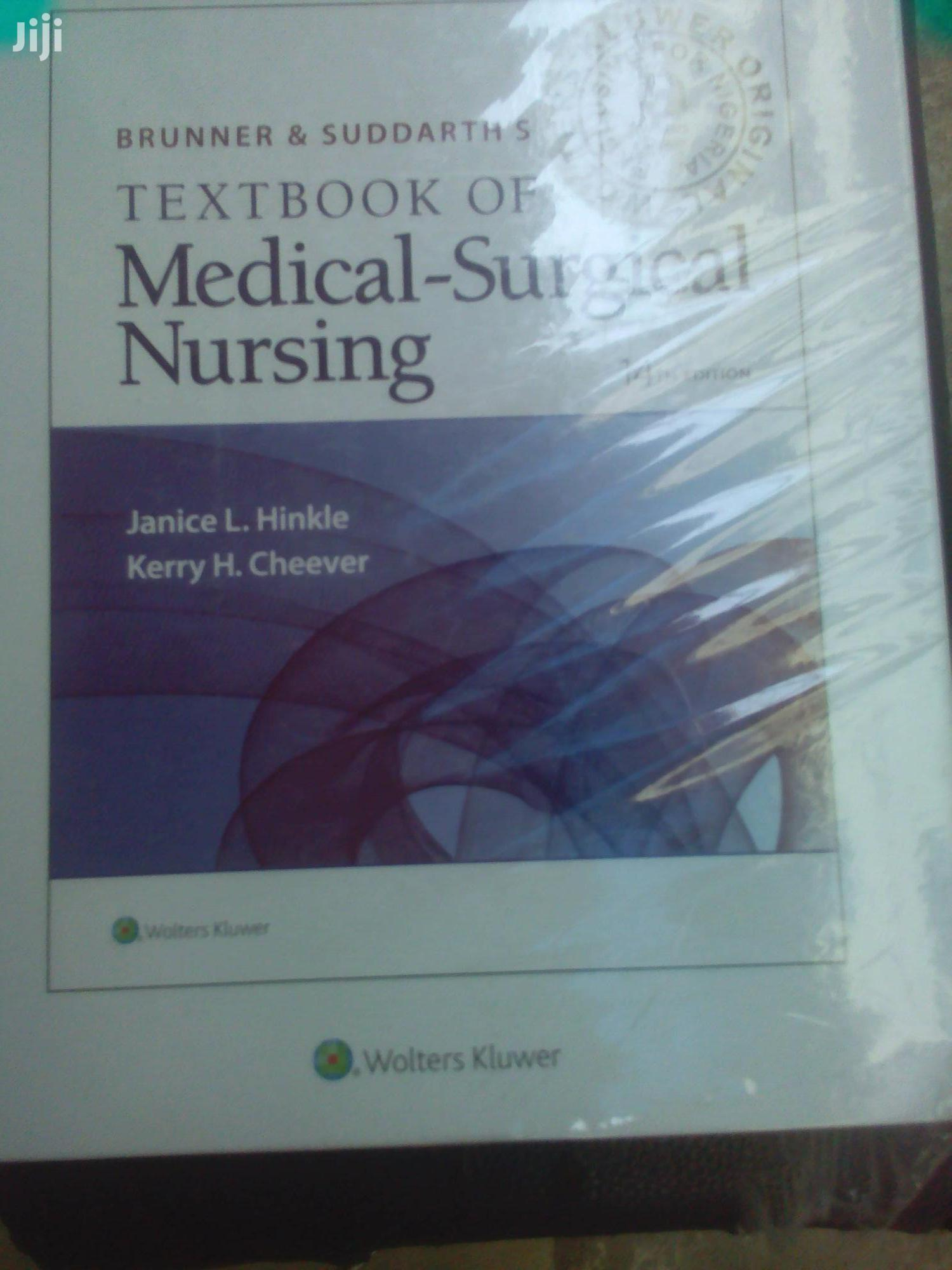 Brunne And Suddarth's Text Book Of Medical Surgical Nursing