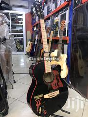 Caravan Music Semi Acoustic Guitar Michael Jackson Limited Edition | Musical Instruments & Gear for sale in Lagos State