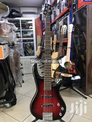 Paramount Professional 5-String Bass Guitar With Bag Belt - Redburst | Musical Instruments & Gear for sale in Lagos State