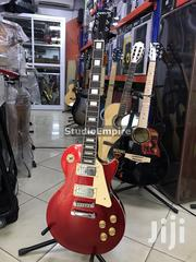 Fidelity Rhythm Electric Guitar With Deluxe Bag and Strap Belt - Red | Musical Instruments & Gear for sale in Lagos State, Surulere