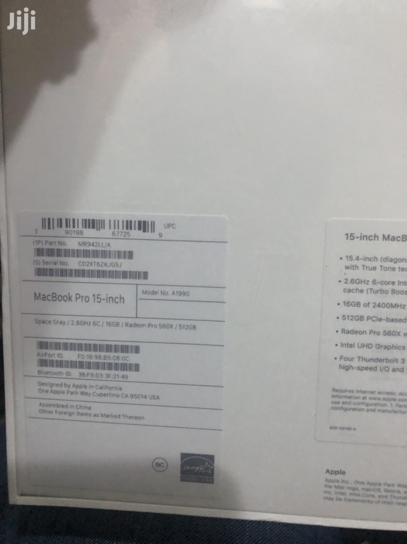 "Archive: Macbook Pro 15"" 16gb 512gb Cori7 4gb Ram"