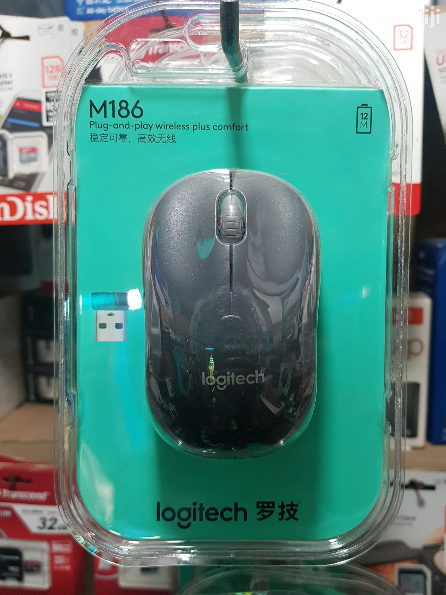 Logitech Wireless Mouse M186