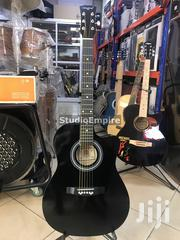 Armstrong 39 Inches Acoustic Box Guitar With Bag And Strap – Black | Musical Instruments & Gear for sale in Lagos State, Surulere