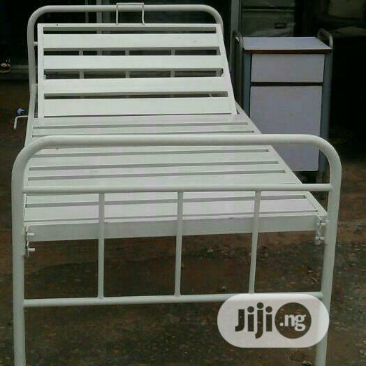 Standard 1crank Hospital Bed (3x6ft ) | Furniture for sale in Ojo, Lagos State, Nigeria