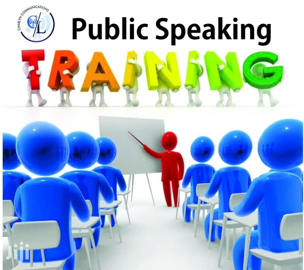 Public/Inspirational/Motivational Speaking Training
