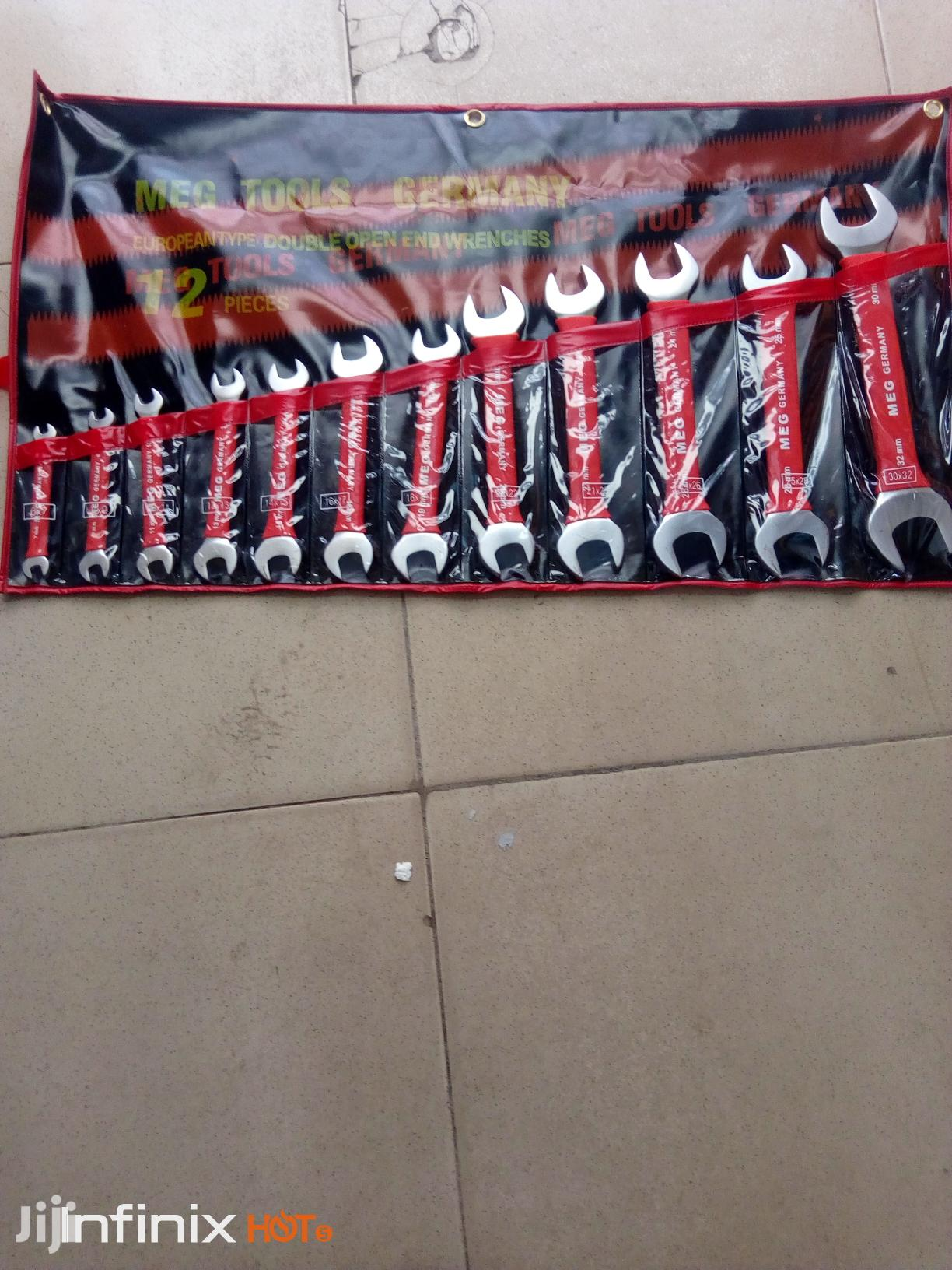 Mechanical Spanner Flat, And Insulated Spanner 6_32   Hand Tools for sale in Port-Harcourt, Rivers State, Nigeria