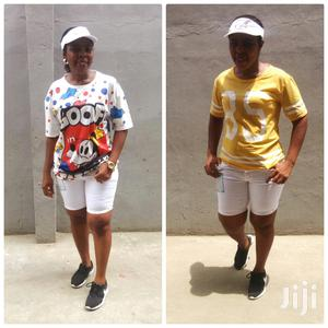 Cute White Jeans Shorts   Clothing for sale in Lagos State, Ikeja