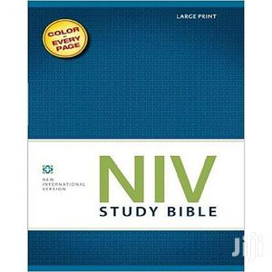 NIV Study Bible, Large Print, Red Letter Edition | Books & Games for sale in Lagos State, Oshodi