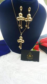 Bold Gold Plated Earring and Pendants Set | Jewelry for sale in Lagos State, Ajah