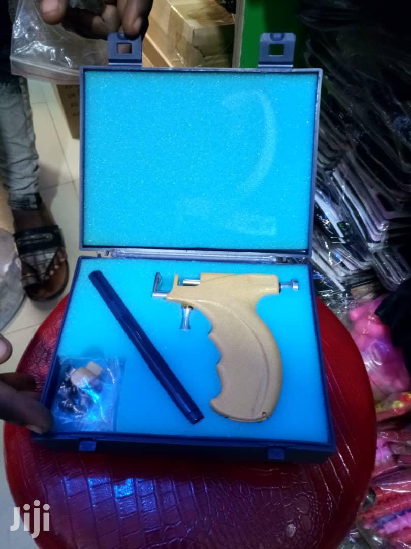Ear Nose Navel Body Piercing Gun 98pcs Studs Tool Kit Set   Salon Equipment for sale in Lagos State, Nigeria