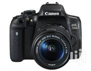 Canon EOS 750D With 18-55mm Lens | Photo & Video Cameras for sale in Lagos State, Ikeja