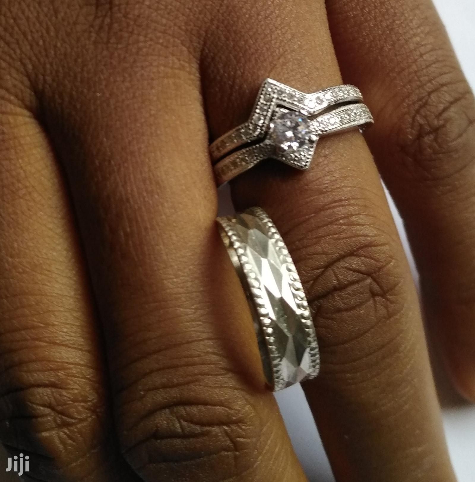 Archive: Wedding Ring Set In Sterling Silver 925