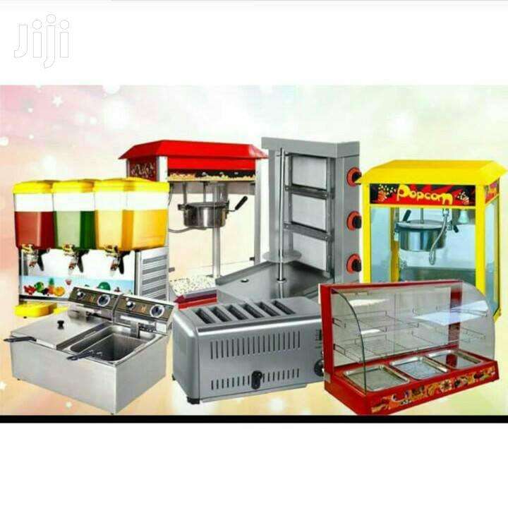 Deep Fryers, Shawarma Machines, Food Warmers Etc
