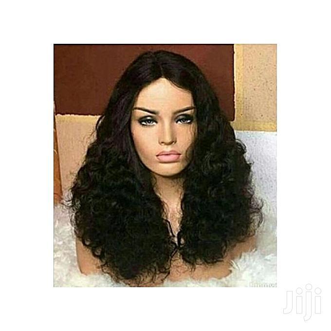 Full Fumi Curls Hair With Closure Wig