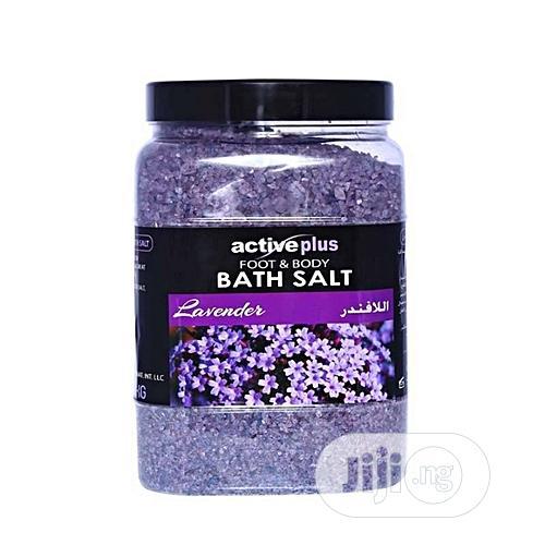Active Plus Foot and Body Salt Lavender