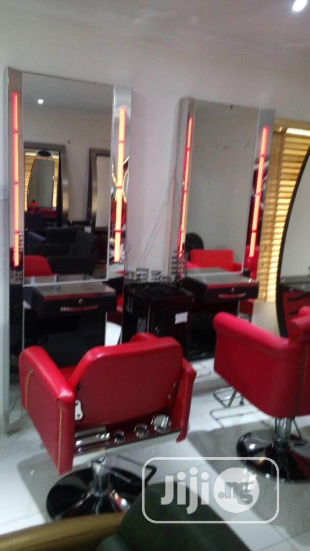 Salon Mirror Chair In Kubwa Salon Equipment Chibest Salon Equipments Jiji Ng