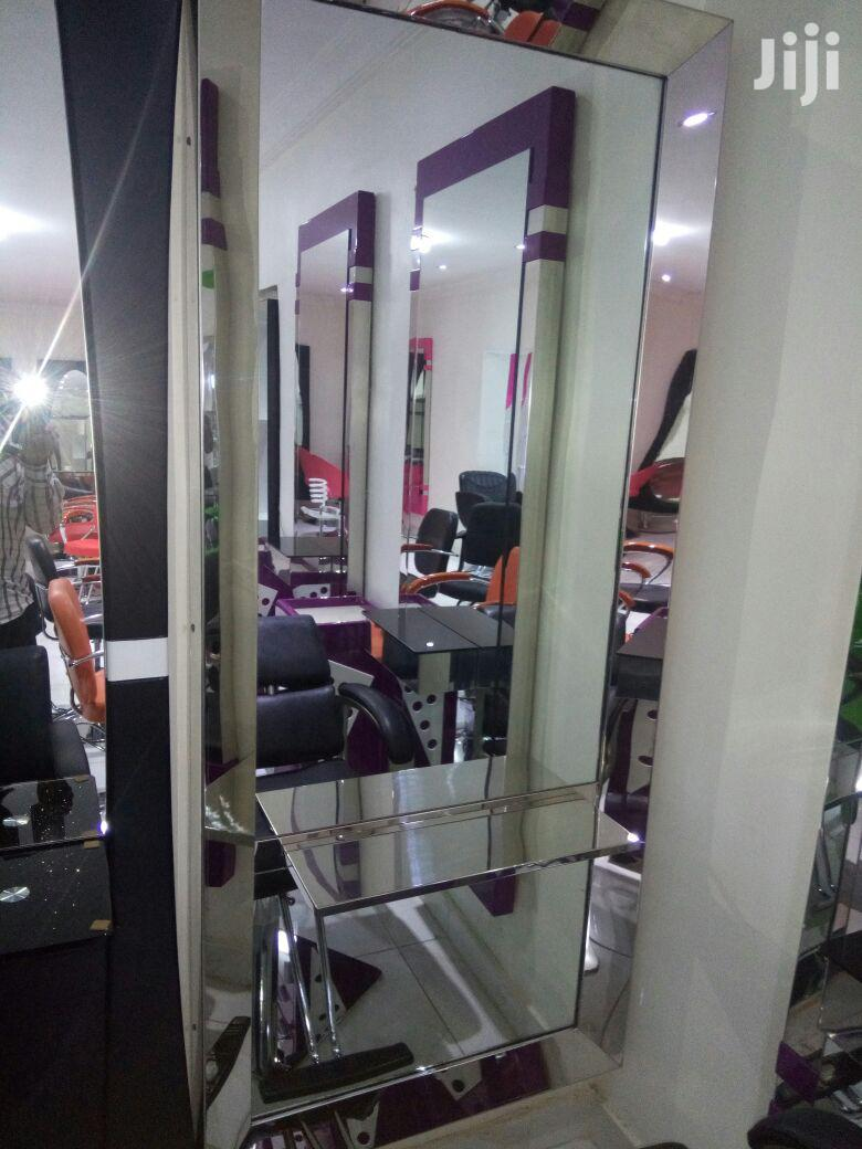 Salon Mirror & Chair   Salon Equipment for sale in Kubwa, Abuja (FCT) State, Nigeria