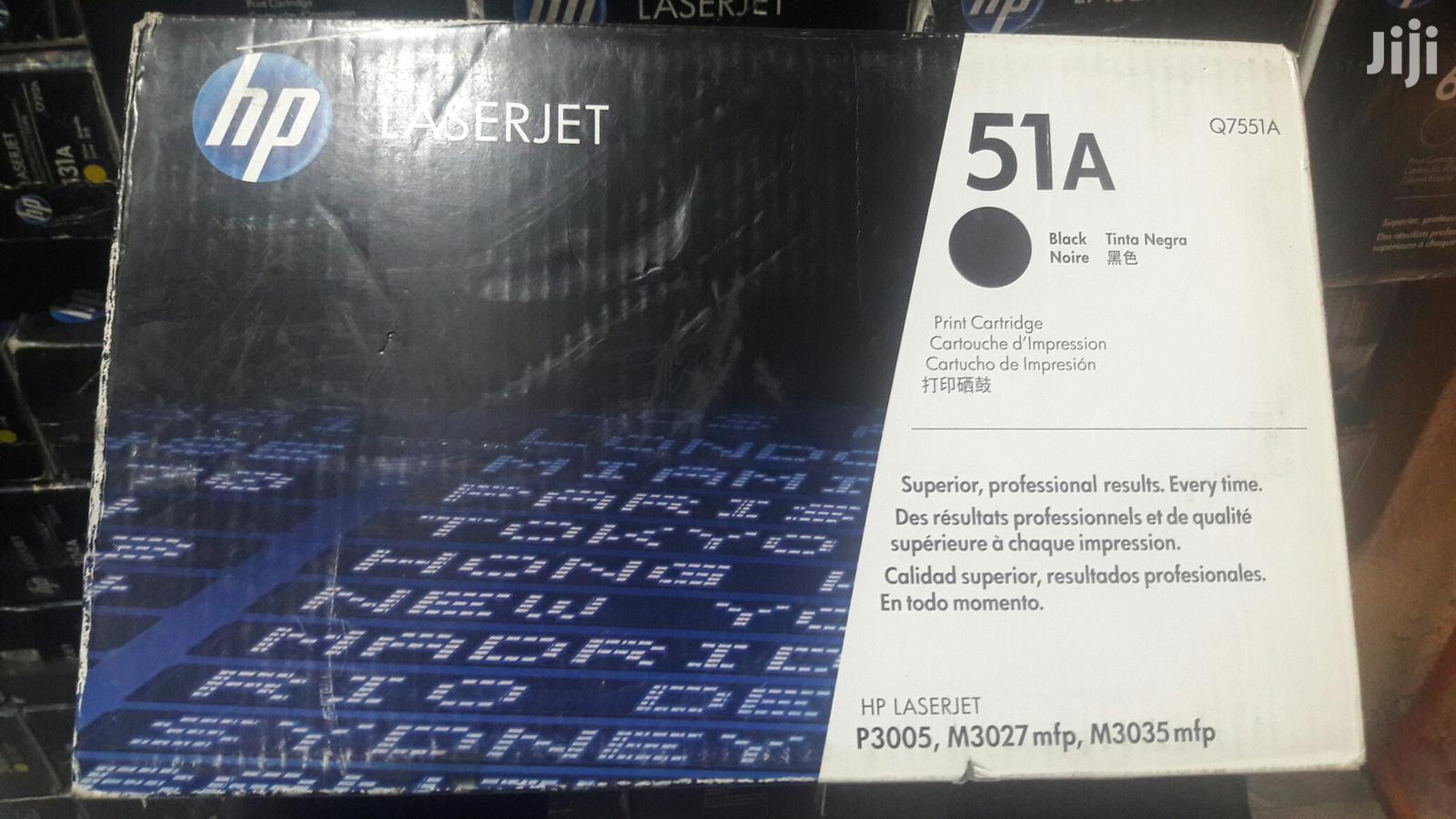 Archive: HP 51A Black Toner