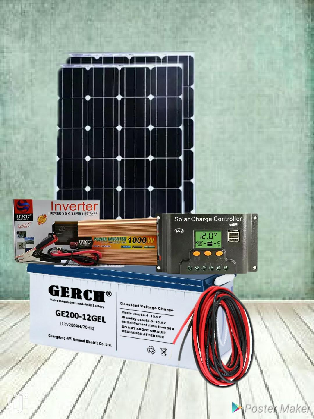 Archive: 1000w Solar Inverter Complete Package