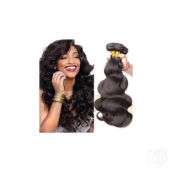 Remy Brazillian Bodywave Black Hair