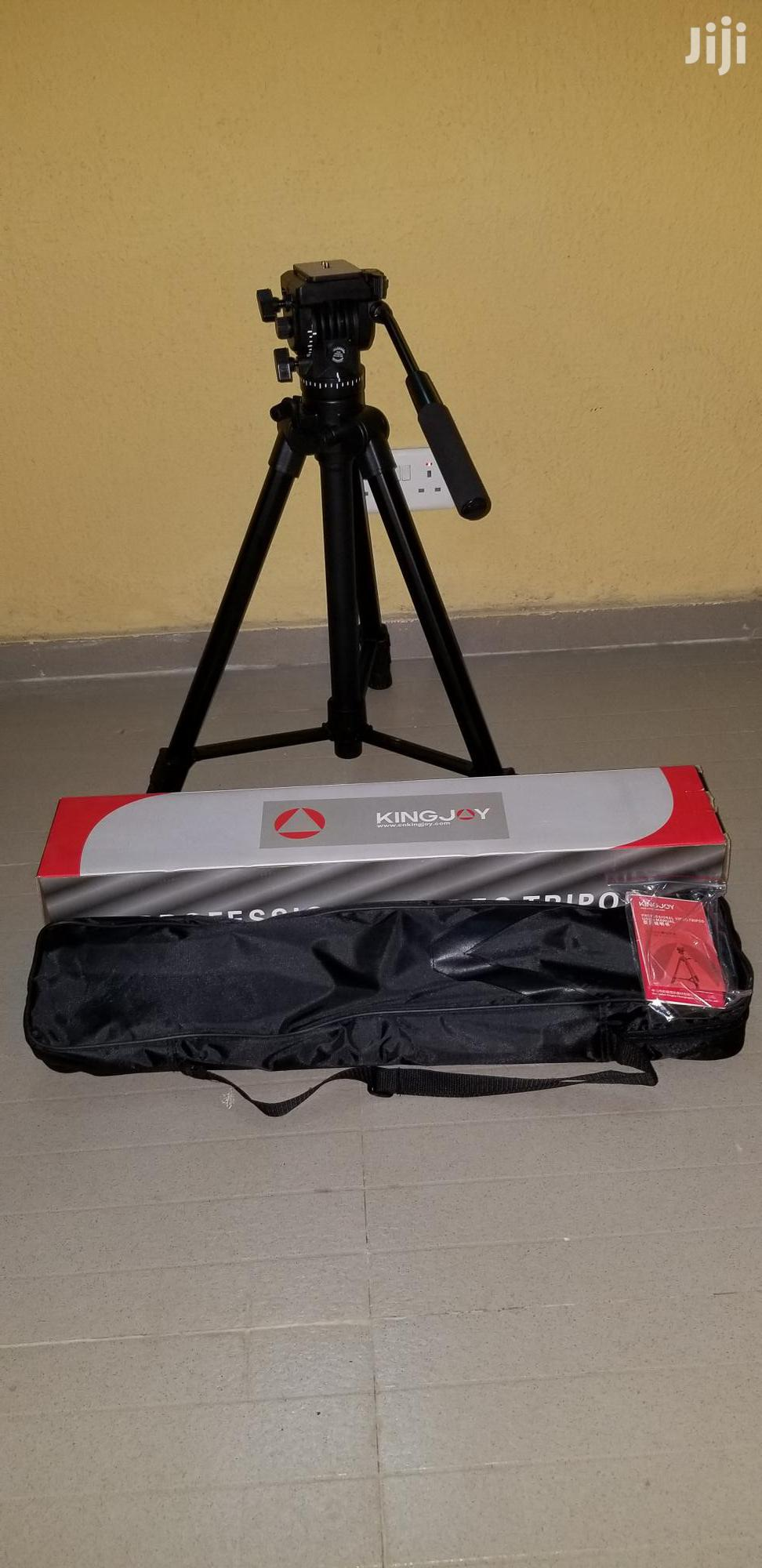 Kingjoy Professional Tripod | Accessories & Supplies for Electronics for sale in Lagos Island, Lagos State, Nigeria