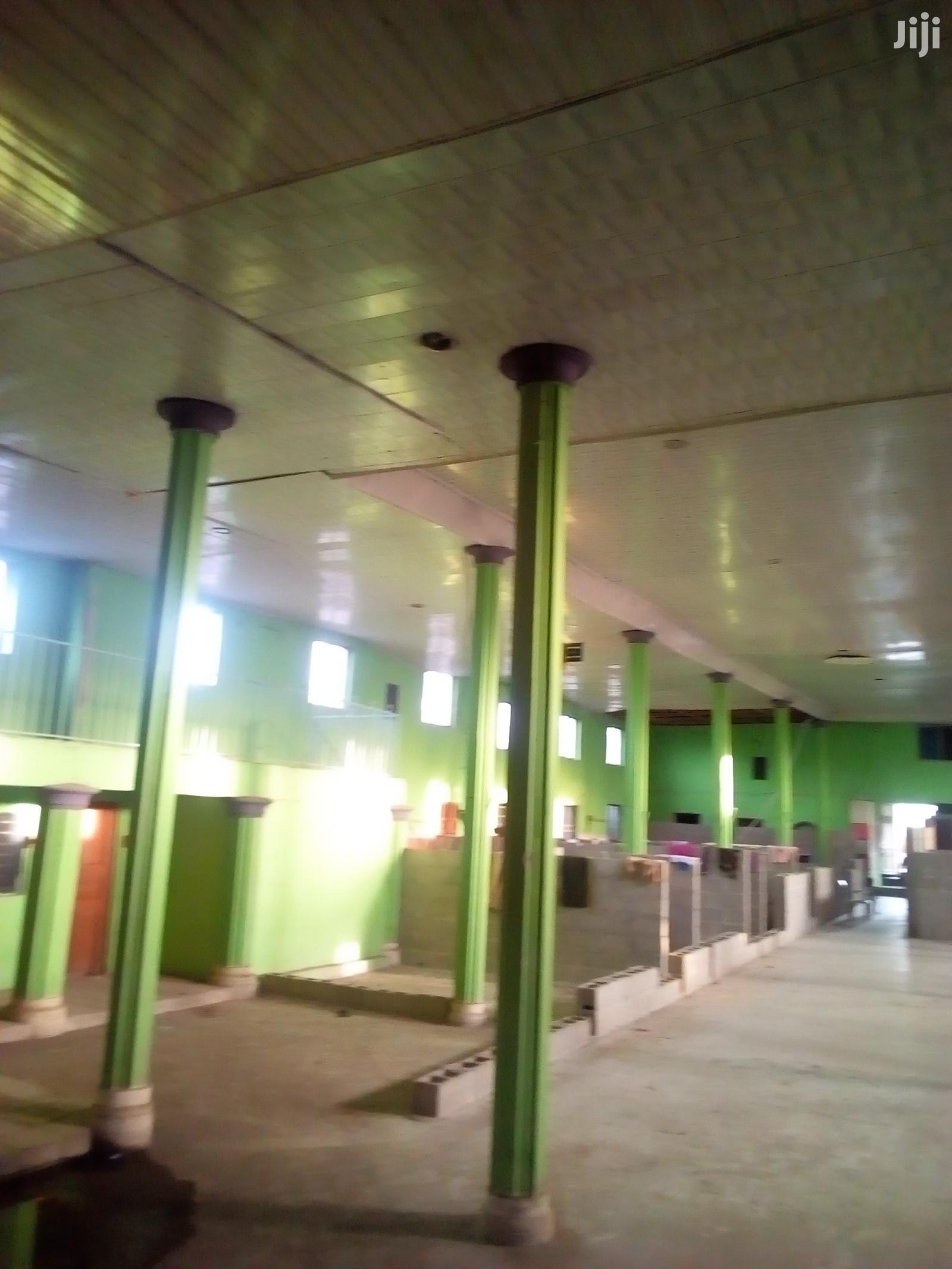 Big Auditorium/Hall For Church Use At Afromedia Okokomaiko