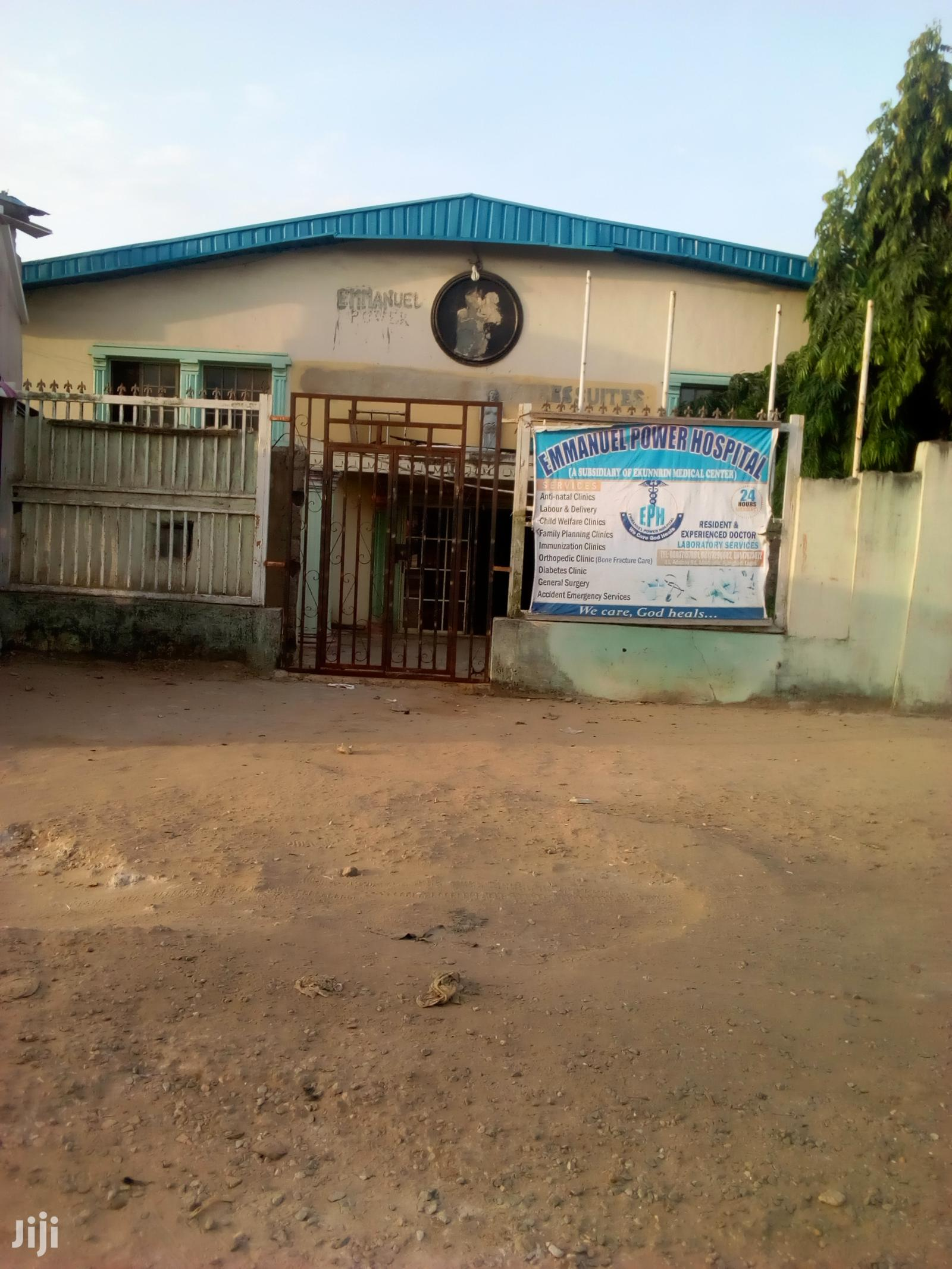 Big Auditorium/Hall For Church Use At Afromedia Okokomaiko   Commercial Property For Sale for sale in Ojo, Lagos State, Nigeria