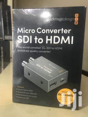 Blackmagic Design Micro Converter SDI To HDMI + PSU | Accessories & Supplies for Electronics for sale in Rivers State, Port-Harcourt