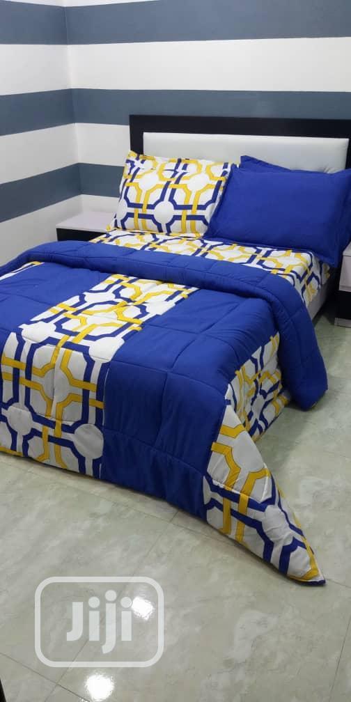 Beautifully Designed Bedsheet and Duvet Set 4/6