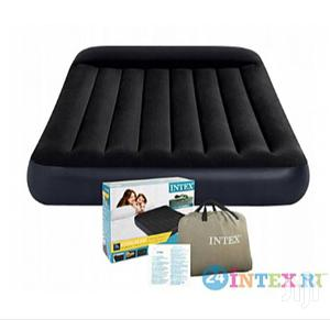 Intex Inflatable Air Bed With Pump   Furniture for sale in Lagos State, Victoria Island