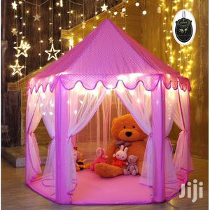 Play Tent Castle House With 20 Feet Decorative LED Star Lights | Toys for sale in Lagos State