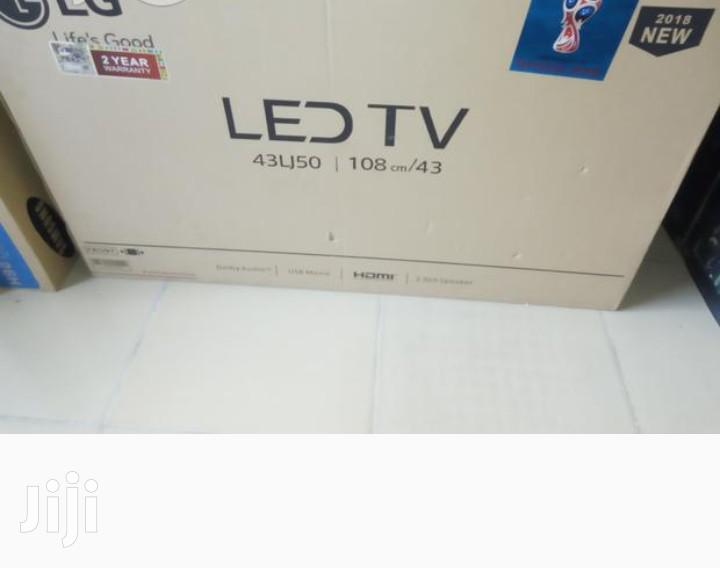 New LG LED TV 43 Inches | TV & DVD Equipment for sale in Lekki, Lagos State, Nigeria